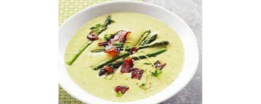 Суп – пюре из зеленой спаржи