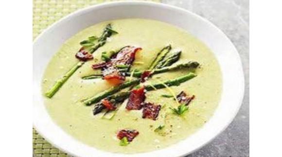 Суп – пюре з зеленої спаржі